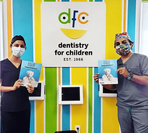 Docs holding magazines - Dentistry For Children in Bloomfield, NJ